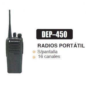 Radio de 2 vías DEP450